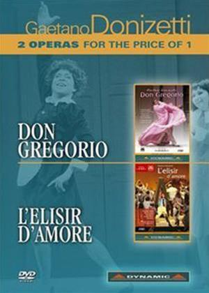 Rent Don Gregorio/L'elisir D'amore: Bergamo Music Festival Online DVD Rental