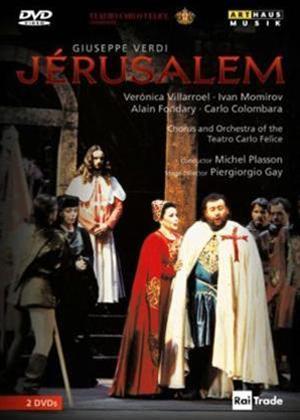 Rent Jerusalem: Teatro Carlo Felice (Plasson) Online DVD Rental
