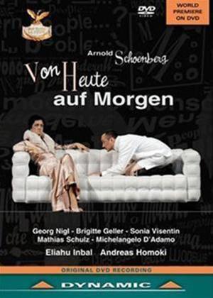 Rent Von Heute Auf Morgen: Teatro La Fenice (Inbal) Online DVD Rental