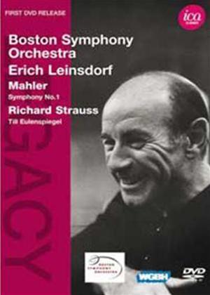 Rent Mahler: Symphony No. 1 / R.Strauss: Till Eulenspiegels (Leinsdorf) Online DVD Rental