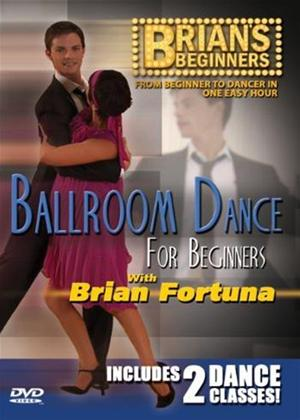 Brian's Beginners: Ballroom Dance for Beginners Online DVD Rental