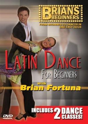 Brian's Beginners: Latin Dance for Beginners Online DVD Rental