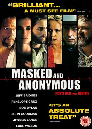 Masked and Anonymous Online DVD Rental