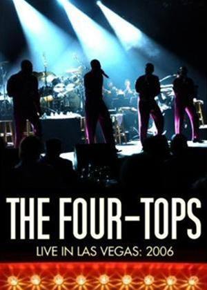 The Four Tops: Live in Las Vegas 2006 Online DVD Rental