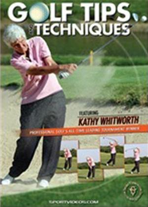 Rent Golf Tips and Techniques with Kathy Whitworth Online DVD Rental