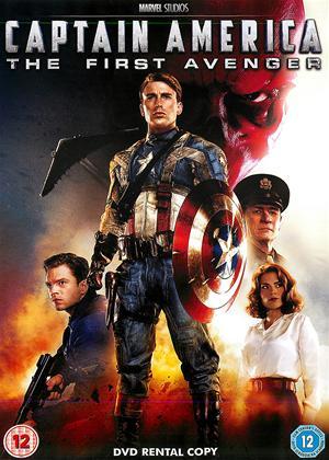Rent Captain America: The First Avenger Online DVD Rental
