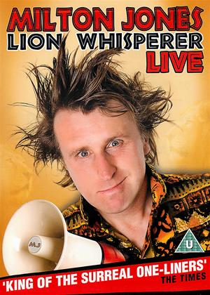 Milton Jones: Lion Whisperer Online DVD Rental