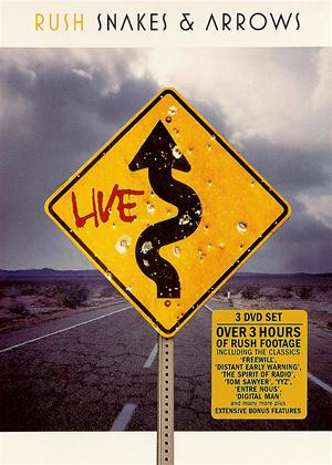 Rent Rush: Snakes and Arrows Live Online DVD Rental