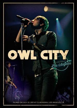 Rent Owl City: Live from Los Angeles Online DVD Rental