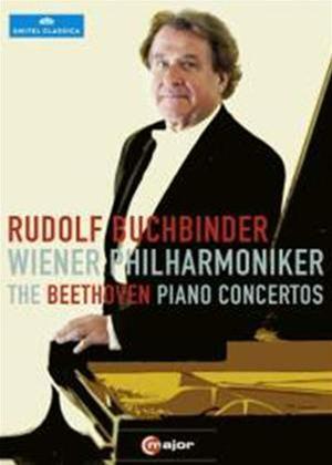 Rent Beethoven piano concertos 1-5: Wiener Philharmonic (Buchbinder) Online DVD Rental