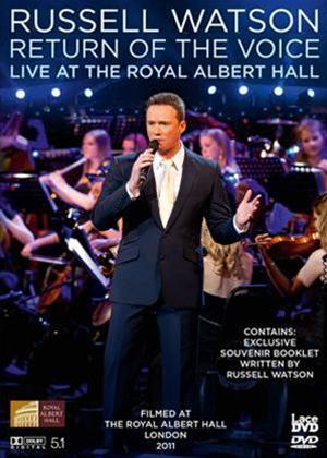 Russell Watson Return of the Voice: Live at the Royal Albert Hall Online DVD Rental