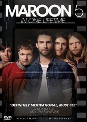 Maroon 5: In one lifetime Online DVD Rental