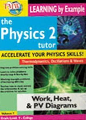 The Physics Tutor 2: Work, Heat and PV Diagrams Online DVD Rental