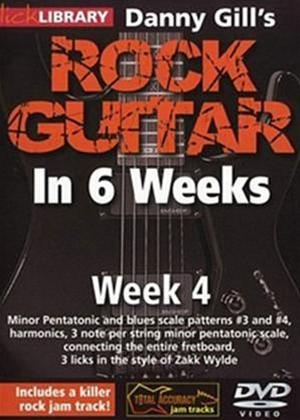 Rock Guitar in 6 Weeks with Danny Gill: Week 4 Online DVD Rental