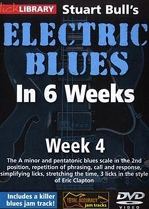 Rent Electric Blues in 6 Weeks with Stuart Bull: Week 4 Online DVD Rental