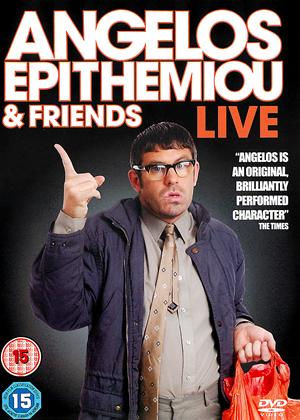 Angelos Epithemiou and Friends: Live Online DVD Rental