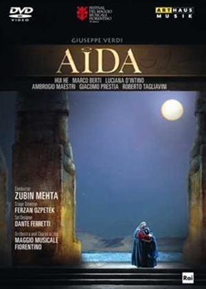 Rent Aida: Teatro Maggio Musicale Fiorentino (Mehta) Online DVD Rental