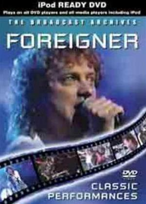 Foreigner: The Broadcast Archives Online DVD Rental