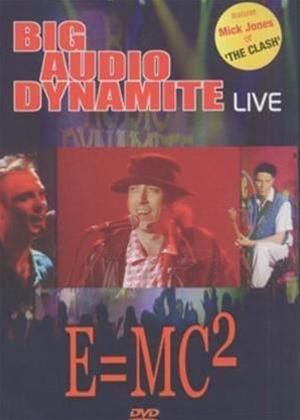 Rent Big Audio Dynamite: Live E = MC2 Online DVD Rental
