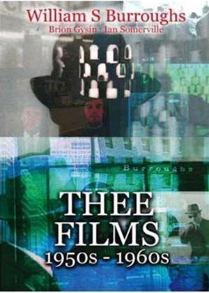 William Burroughs: Thee Films Online DVD Rental