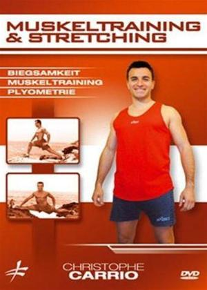 Christophe Carrio: Muskeltraining and Stretching Online DVD Rental