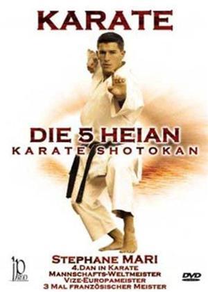 Stéphane Mari: Karate the 5 Heian Shotokan Karate Online DVD Rental