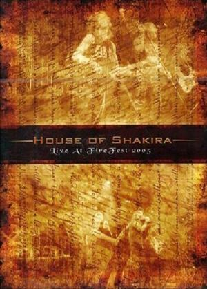 House of Shakira: Live at Fire Fest 2005 Online DVD Rental