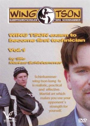 Wing Tson Englisch: Wing Tson Exam to Become First Technicia Online DVD Rental