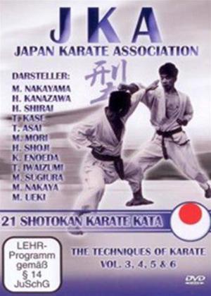 Rent Jka Japan Karate Association: 21 Shotokan Kata Online DVD Rental