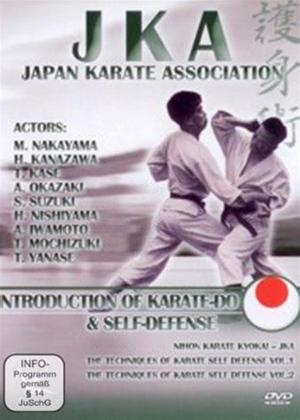JKA: Introduction to Karate-do and Self Defence Online DVD Rental