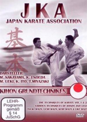 Rent JKA Japan Karate Association: Kihon Grundtechniken Online DVD Rental