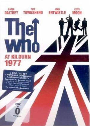 The Who: At Kilburn: 1977 Online DVD Rental