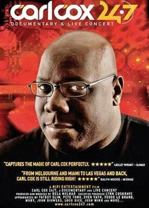 Carl Cox: Documentary and Live Concert Online DVD Rental