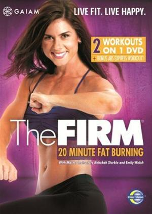Rent The Firm: 20 Minute Fat Burning Online DVD Rental