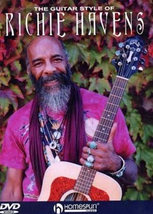 Rent Guitar Styles of Richie Havens The Online DVD Rental