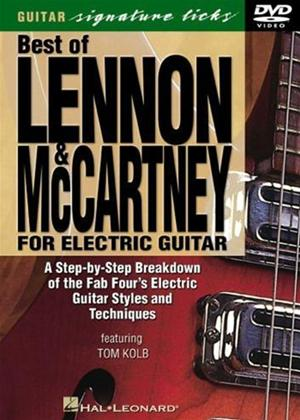 Rent The Best of Lennon and McCartney for Electric Guitar Online DVD Rental