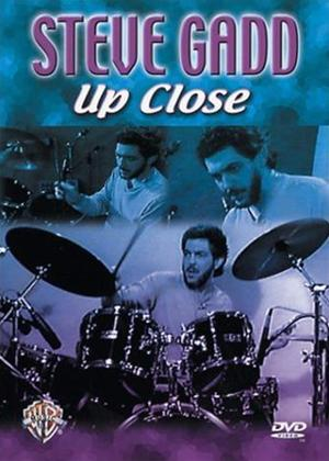 Rent Steve Gadd: Up Close Online DVD Rental