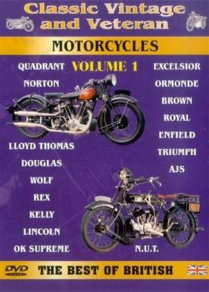 Classic Vintage and Veteran Motorcycles: Vol.1 Online DVD Rental
