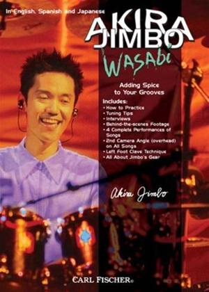 Rent Akira Jimbo: Wasabi: Adding Spice to Your Grooves Online DVD Rental