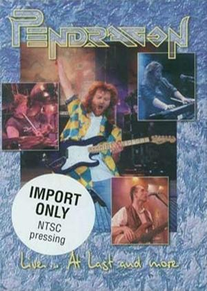 Pendragon: Live at Last Online DVD Rental