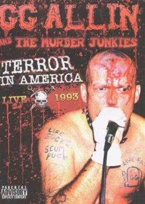 Rent G.G. Allin: Terror in America: Live 1993 Online DVD Rental