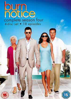 Burn Notice: Series 4 Online DVD Rental