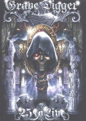 Grave Digger: 25 to Live Online DVD Rental
