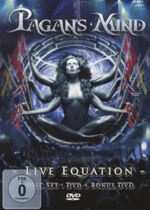 Rent Pagan's Mind: Live Equation Online DVD Rental