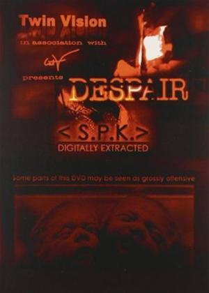 S.P.K: Despair Online DVD Rental