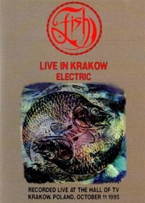 Fish: Live in Krakow Electric Online DVD Rental