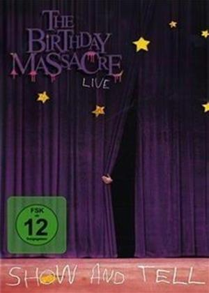 The Birthday Massacre: Show and Tell Online DVD Rental