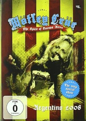 Rent Motley Crue: The Spirit of Buenos Aires Online DVD Rental
