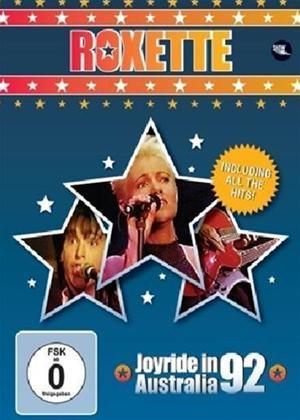 Roxette: Joyride in Australia '92 Online DVD Rental