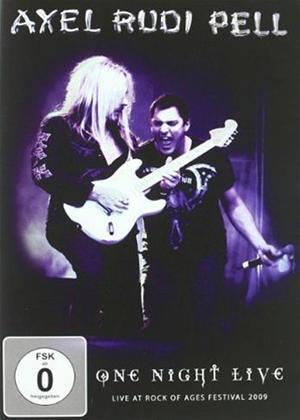 Axel Rudi Pell: One Night Live Online DVD Rental